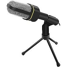 UEB Professional 3.5mm Podcast Studio Microphone Mic for Skype Desktop PC