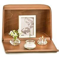 日本香堂 やさしい時間 祈りの手箱 ブラウン (仏壇 仏具 お線香)