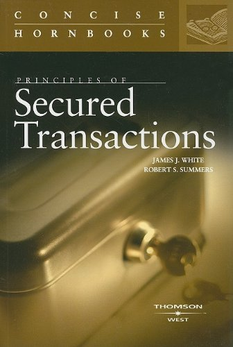 Download Principles of Secured Transactions (Concise Hornbook) 0314184783