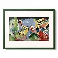 ワシリー・カンディンスキー Wassily Kandinsky (Vassily Kandinsky) 「Improvisation 14」 額装アート作品