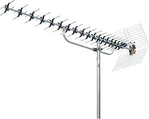 YAGI 高性能UHFパラスタックアンテナ 20素子オールチャンネル用 F型用 CLUS-W20CR
