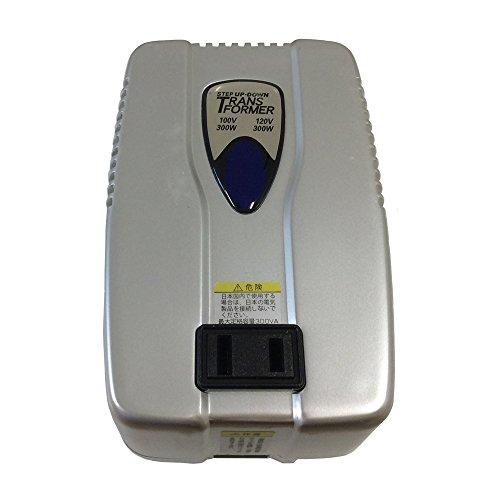 カシムラ 海外国内用変圧器 100V/110-130V/300VA NTI-28