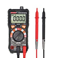 Birdlantern UYIGAO UA9233E 5999 LCDデジタルマルチメータAC/DCボルトDC Ampオーム抵抗連続性ダイオードhFE周波数テスターデータホールド