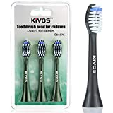 電動歯ブラシの替えブラシ, KIVOS ディープクリーンエディション ブラシヘッドS5102 S53 S5302 S52 専用替えブラシ 替えブラシ3本(S6137K(シャンパンゴールド))
