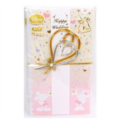 祝儀袋/婚礼お祝い袋〔ディズニー金封〕(ミッキー&ミニー)