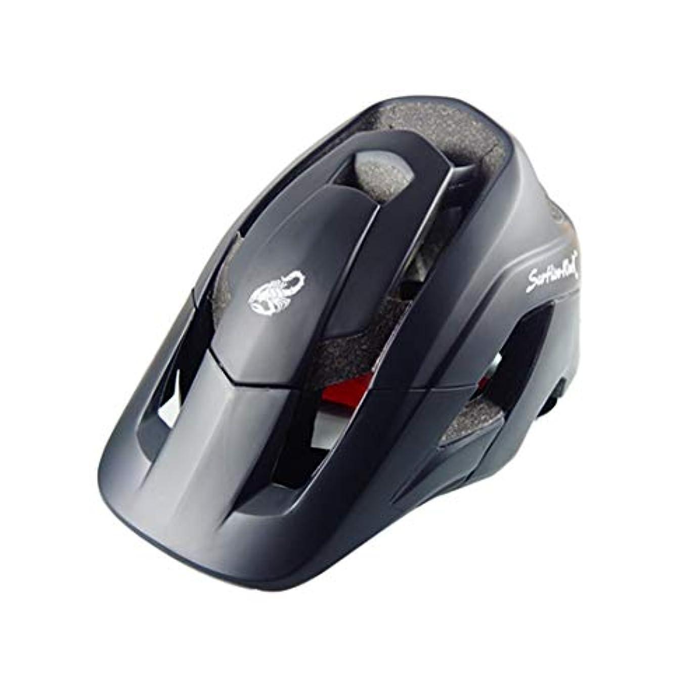 ビートインカ帝国長椅子LIJIAN サイズ:M、頭の長さ:54-58 cm、スポーツ用マウンテンバイク用保護ヘルメット (色 : ブラック)