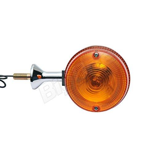 Big-One(ビッグワン) Z1 Z650FOUR Z750RS W1 Z750Four Z750 W2 ウィンカー ショート 橙