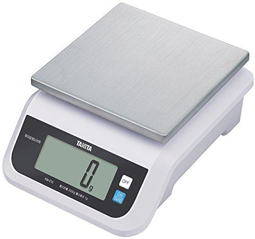 TANITA デジタルスケール(取引証明以外用) 2kg ホワイト KW-210-WH 2kg