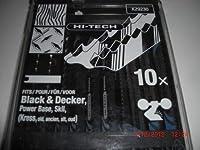 ピラニアジグソーミックスブレードUシャンクHCS/HSS - 10個セット