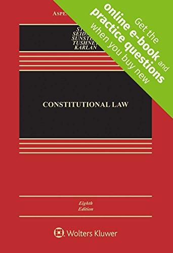 Download Constitutional Law (Aspen Casebook) 1454876670