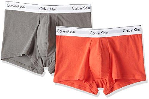 (カルバン・クライン) CALVIN KLEIN MODERN COTTON STRETCH ボクサーパンツ2枚パック NB1086 M グレー系その他