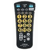 JVCケンウッド ビクター テレビ用簡単リモコン RM-A103-B