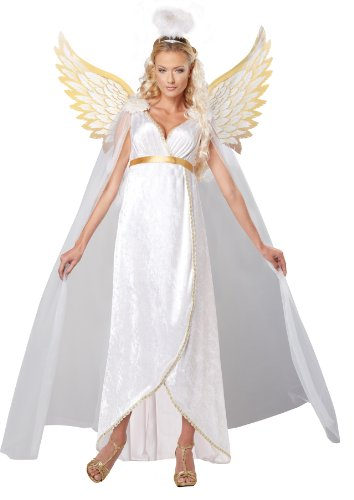 守護天使の女性の衣装 Guardian Angel Costume