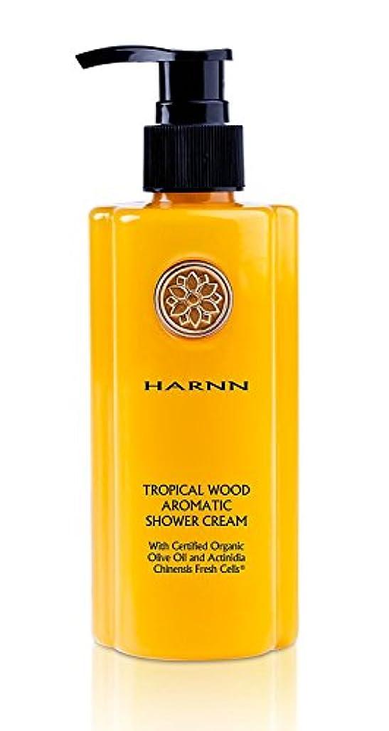 何素敵なペダルHARNN [ハーン] アロマティック シャワークリーム トロピカルウッド