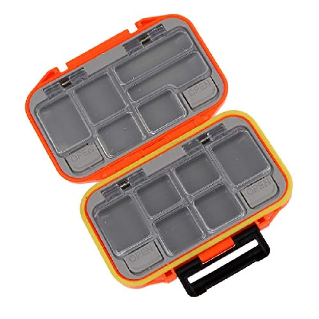 でスコア描くT TOOYFUL 釣りルアー餌収納ボックスケース 収納ケース プラスチック製 耐久性 軽量 全3色
