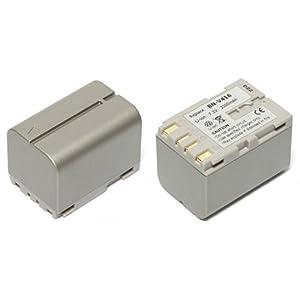 MyBattery HQ+ JVC BN-V416互換バッテリー【シルバー】(お得な2個セット) MBH-BN-V416 Silver Plus