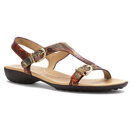 Vaneli Women's Taletha Multi Darry Print Sandal 5 M (B) [並行輸入品]