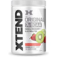 Scivation Xtend BCAA Powder, Strawberry Kiwi, 30 Servings