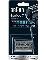 Braun ブラウン シェーバー替刃 網刃?内刃一体型カセットシリーズ7用 ブラック F/C70B-3 【790cc/765cc/760cc/750cc/740s-6/720s】 並行輸入品