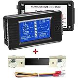 DCマルチメーターバッテリーモニター0-100A電流計電圧計、LCDディスプレイ、デジタル電流電圧、ソーラーパワーバッテリー/RV/ボート/トレーラーなどに適合