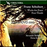 Schubert - Works For Piano Four Hands - The Golden Duet Alexander Bakhchirev, Elena Sorokina (2003-08-02)