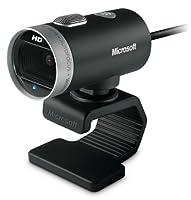 Microsoft LifeCam Cinema 720p HD Webカメラ–ブラック