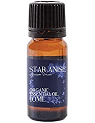 Mystic Moments   Star Anise Organic Essential Oil - 10ml - 100% Pure