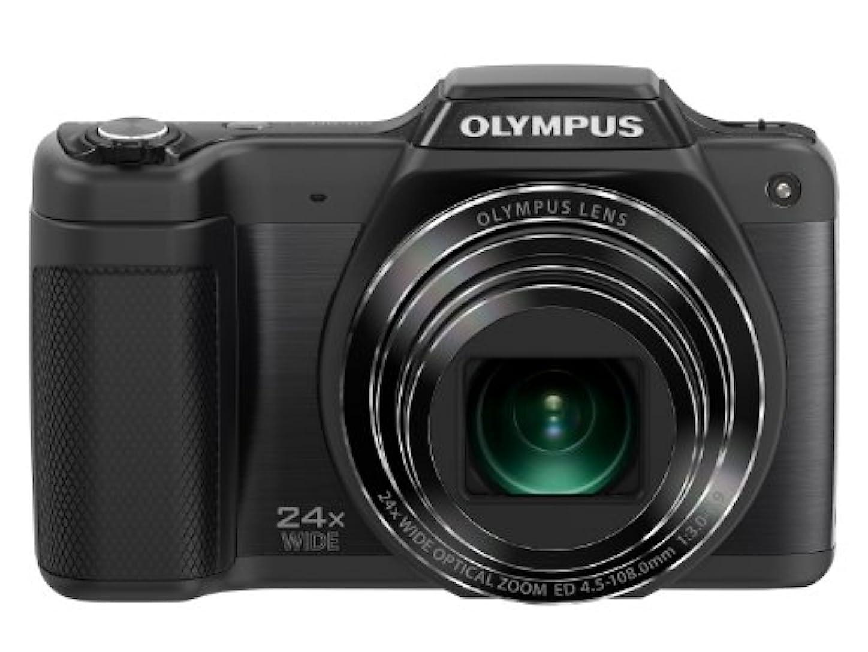 生き返らせるセーターステーキOLYMPUS デジタルカメラ STYLUS SZ-15 1600万画素 光学24倍ズーム 広角25mm ブラック SZ-15 BLK