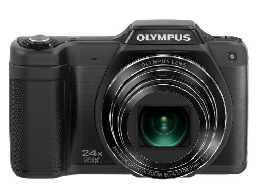 RoomClip商品情報 - OLYMPUS デジタルカメラ STYLUS SZ-15 1600万画素 光学24倍ズーム 広角25mm ブラック SZ-15 BLK