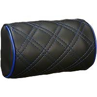 クラッツィオ ネックパッド  キルティング Clazzio ブラックレザー×ブルーステッチ仕様 09EOA0003E