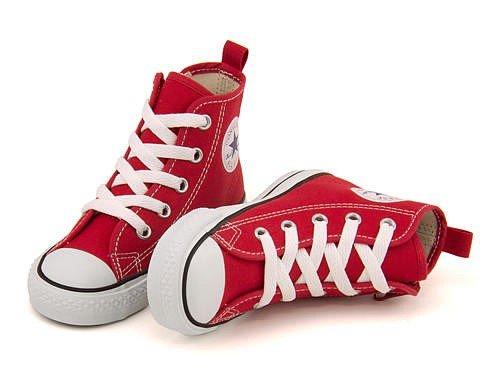 [コンバース] converse 女の子 男の子 キッズ 子供靴 運動靴 通学靴 ハイカット スニー...