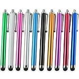 10本セット スマートフォン/iPhone/iPad/Nexus など各種対応 タッチペン