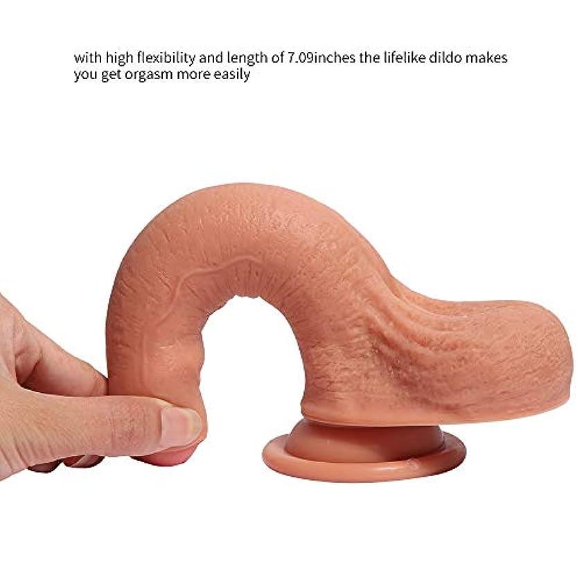 申し立てる民間助言するY-angcco6 7.09インチリアルフィールリアルな肌に優しいシリコーン素材用大人の女性マッサージボディ - 100%秘密のパッキング
