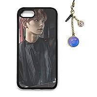 KPOP 韓流 SEVENTEEN セブンティーン 携帯電話ケース「TEEN, AGE」フルアルバム(IPHONE CASE) + ダストプラグ アクセサリ (iPhone 7/8, F04)