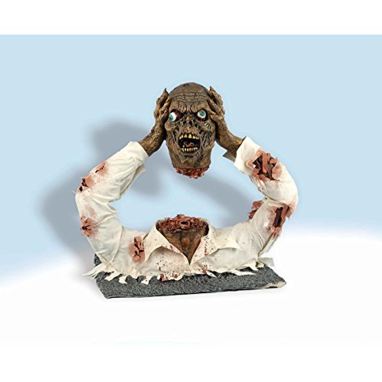 ゾンビ 置き物 人形 ハロウィン インテリア 装飾 飾り デコレーション ホラー 恐怖 グッズ [並行輸入品]
