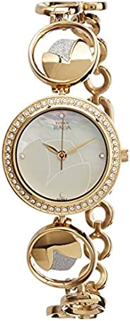 Titan Mother Of Pearl Dial Analog Watch for Women 2539BM01 Silver