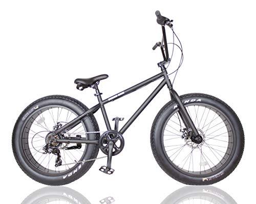 ファットバイク FAT BIKE 24インチ 6段変速ギア付き
