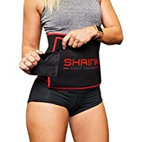 shrink Workout Waist Trimmer Belt for Men and Women - Waist Cincher Trainer and Body Shaper Strengthens Your Core, Supports Weight Loss and Provides Instant Slimming Effect