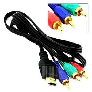 HDMIコンポーネントケーブル(3RCA)