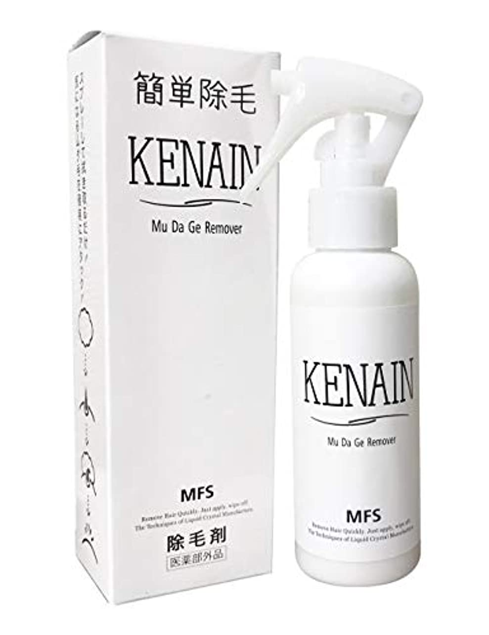 欠点寮意見KENAIN 除毛剤 100g 簡単除毛 低刺激 男女兼用 [医薬部外品]