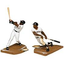 マクファーレントイズ MLB フィギュア2パックシリーズ バリー・ボンズ&ウィリー・メイズ(バリアントグレー)