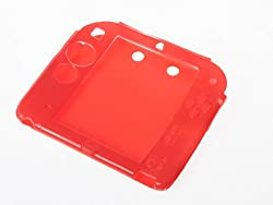ニンテンドー 2DS シリコン製 ソフトケース 保護カバー #レッド