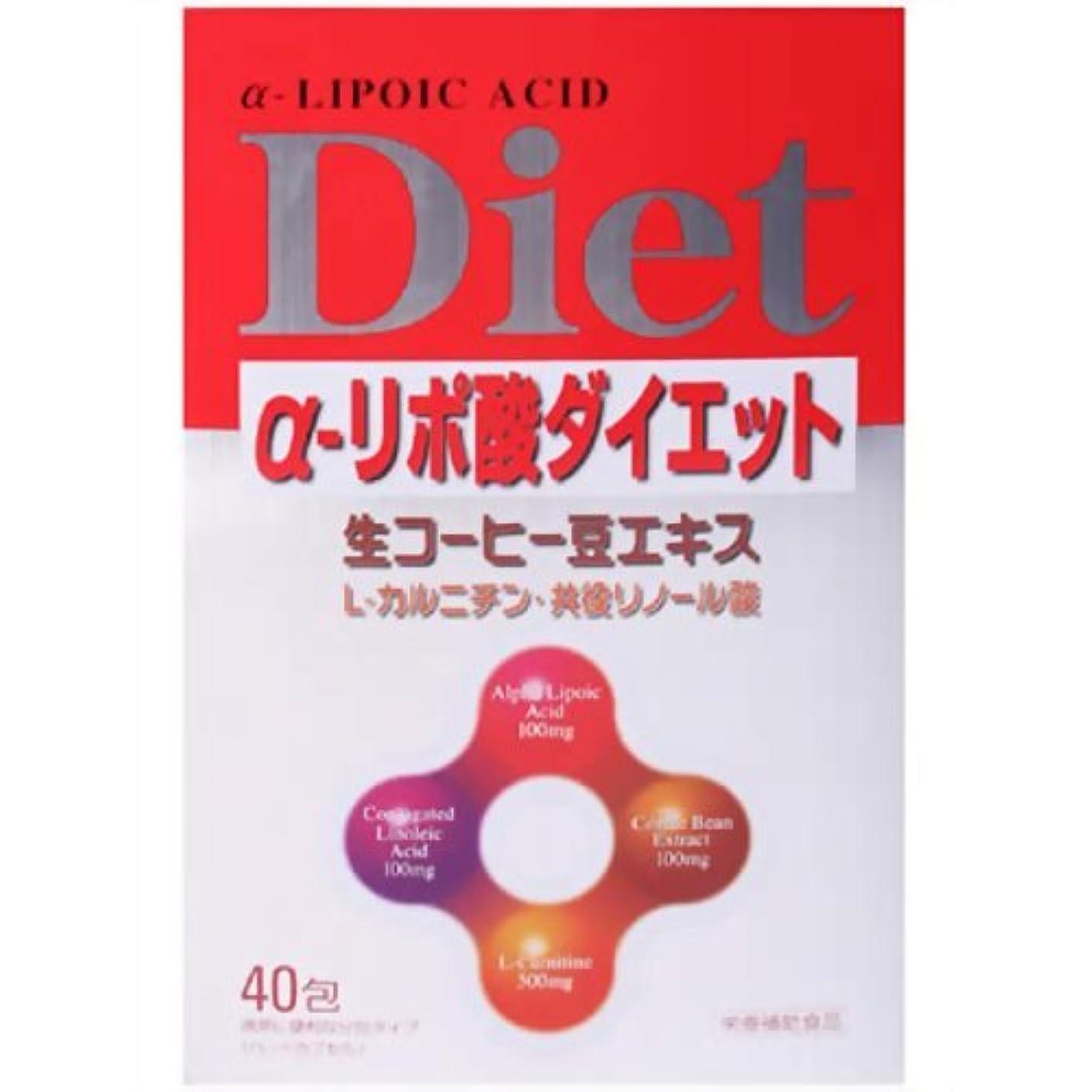 固めるコンテンツ溶ける健美舎 ラディアαリポ酸ダイエット 300mgx3CPx40袋