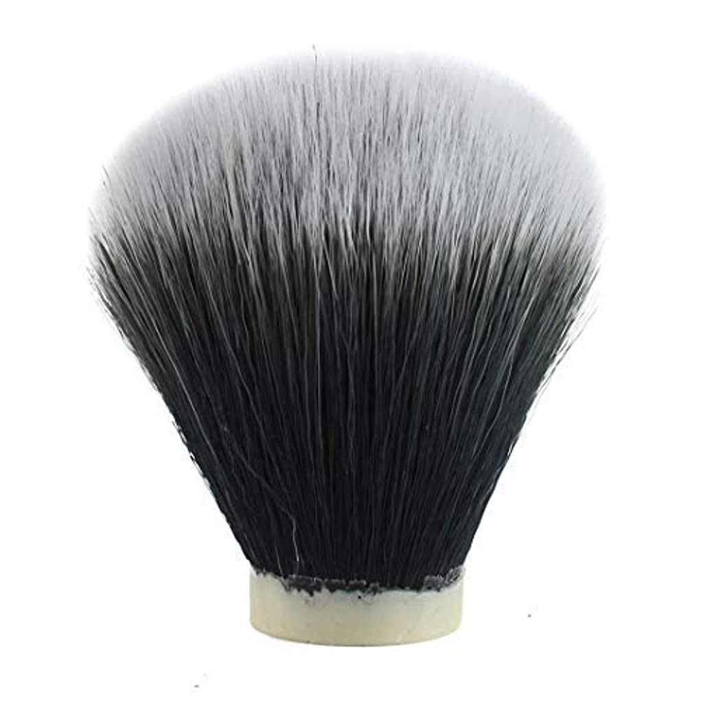 はがき結晶本物のTuxedo Synthetic Hair Brush Shaving Knot (24mm) [並行輸入品]