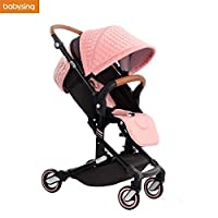 Babysing High View Lightweight Deluxe Convenience Stroller [並行輸入品]