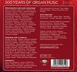 500 YEARS OF ORGAN MUSIC 画像