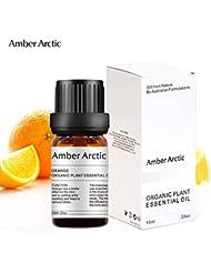 Amber Arctic 拡散 用 オレンジ 精油、 100% 純粋 天然 アロマ ラベンダー オイル (10ml) 中