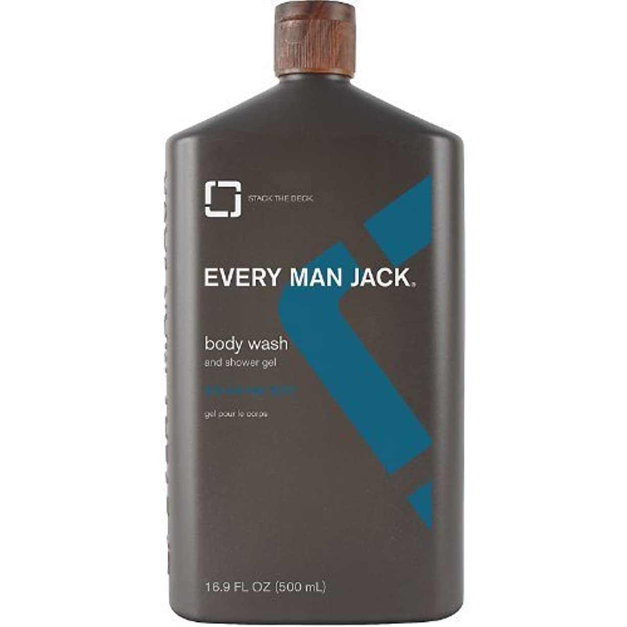 若者誘うトロイの木馬Body Wash - Signature Mint - 16.9 oz by Every Man Jack