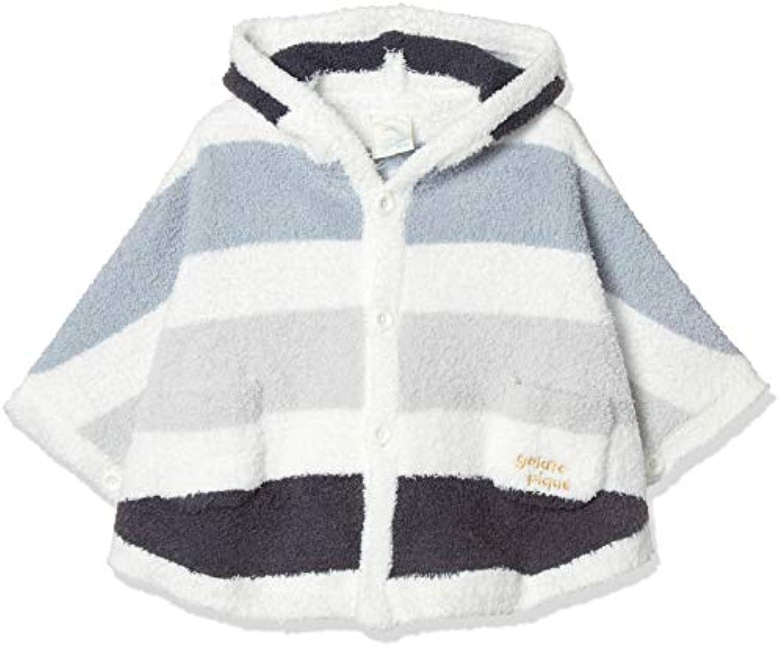 [ジェラート ピケ] Gelato Pique Kids&Baby ベビモコ4ボーダーbabyポンチョ PBNT184444 キッズ