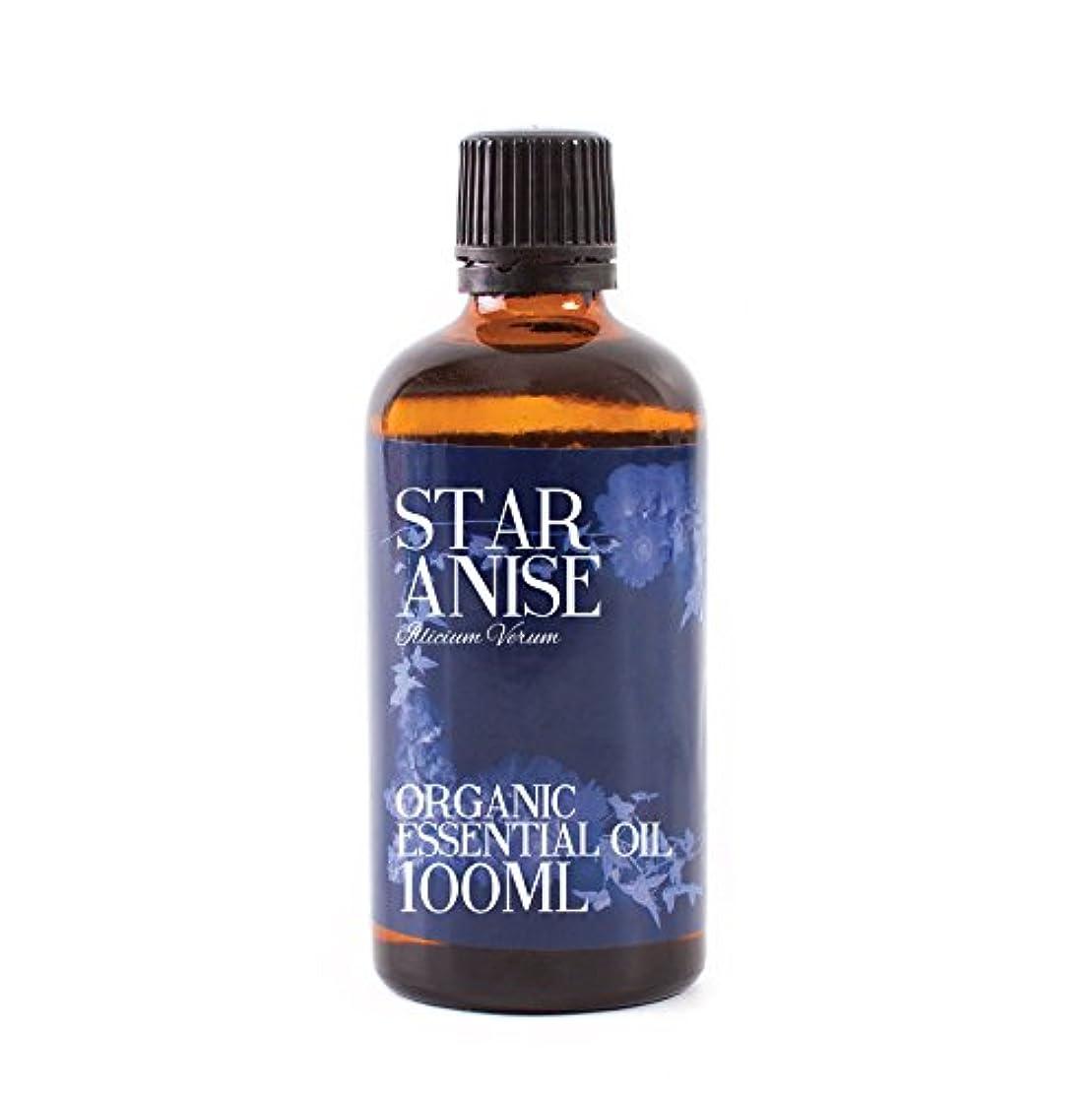 スキップヒューズベテランMystic Moments | Star Anise Organic Essential Oil - 100ml - 100% Pure